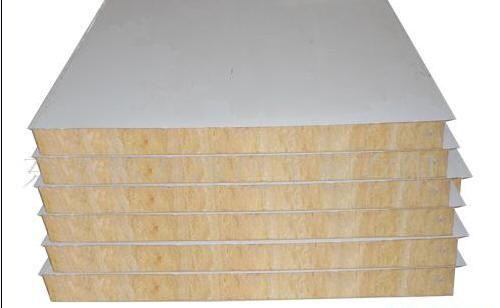 河南岩棉复合板生产厂家 郑州岩棉复合板生产厂家 岩棉夹芯复板