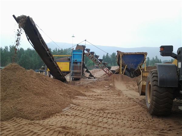 广东洗砂机供应