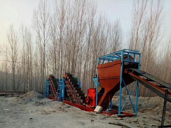 陕西碎石生产线生产