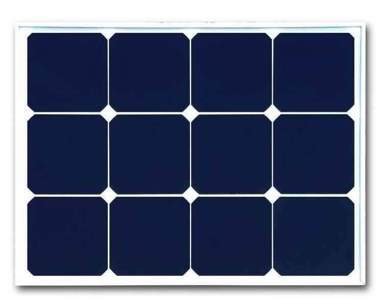 19.8V100W单晶太阳能板