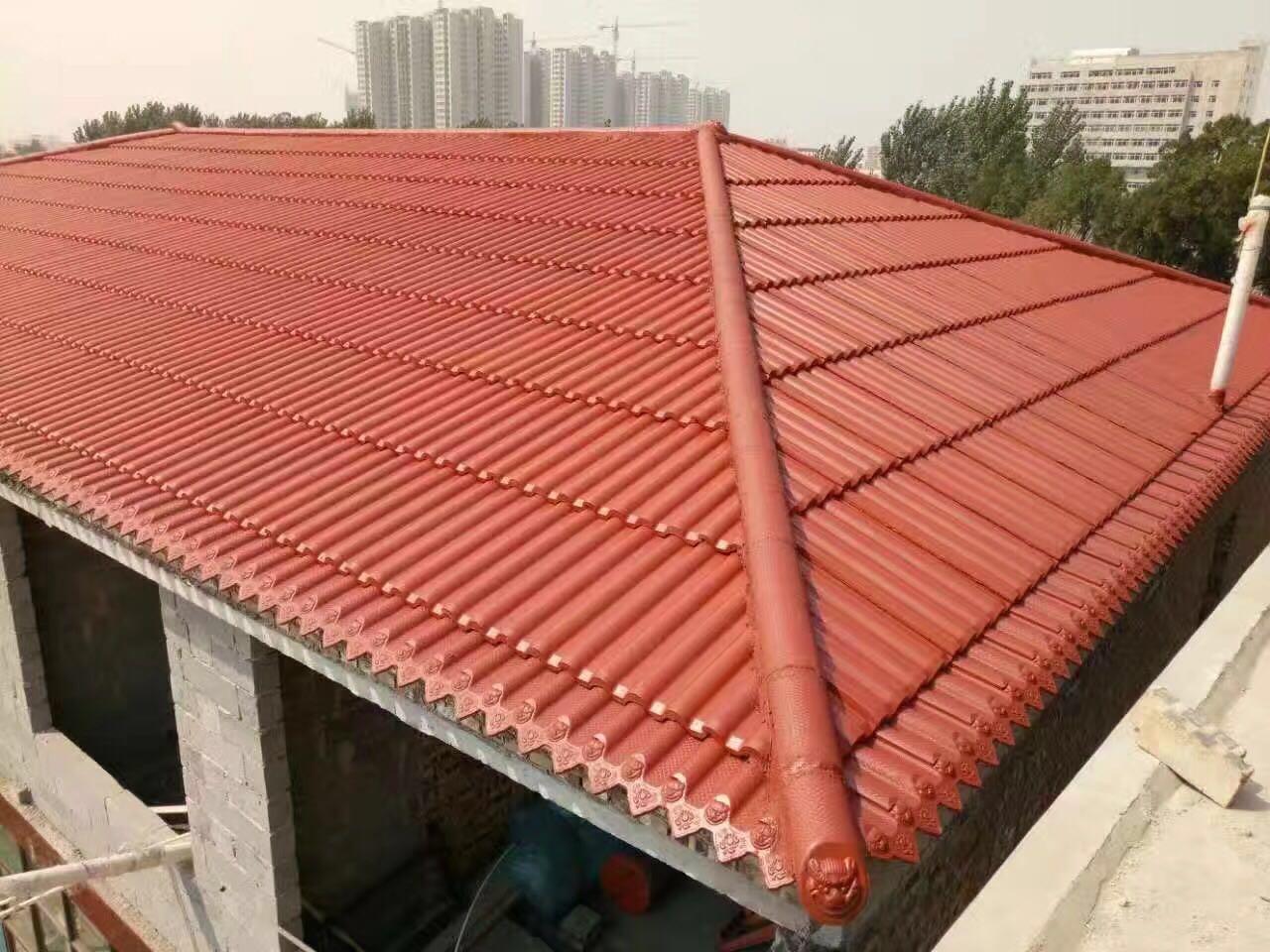 临沂屋顶彩瓦价格