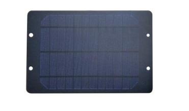 仪器仪表户外供电用玻璃层压单晶太阳能板厂价供应