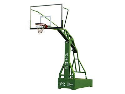 平凉电动液压篮球架批发