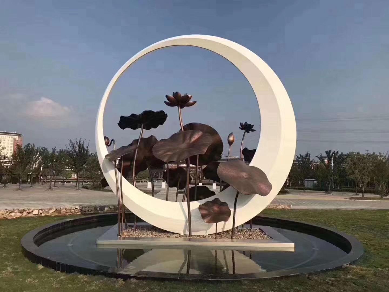 陇南酒店不锈钢雕塑公司