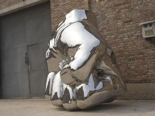 西宁广场不锈钢雕塑定制