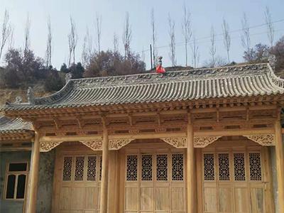 果洛藏式佛堂建筑模型