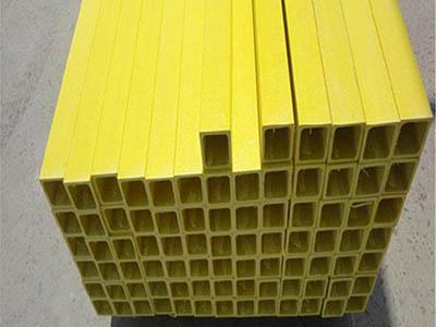 廠家供應玻璃鋼拉擠型材方管圓管矩形管槽鋼角鋼日字管
