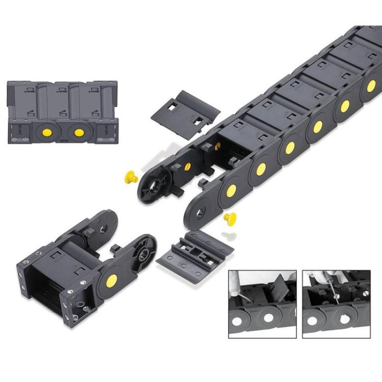 塑料拖鏈尺寸J10Q.1.15B-橋式不可打開