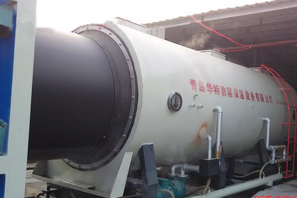 上海真空定徑保溫管生產線廠