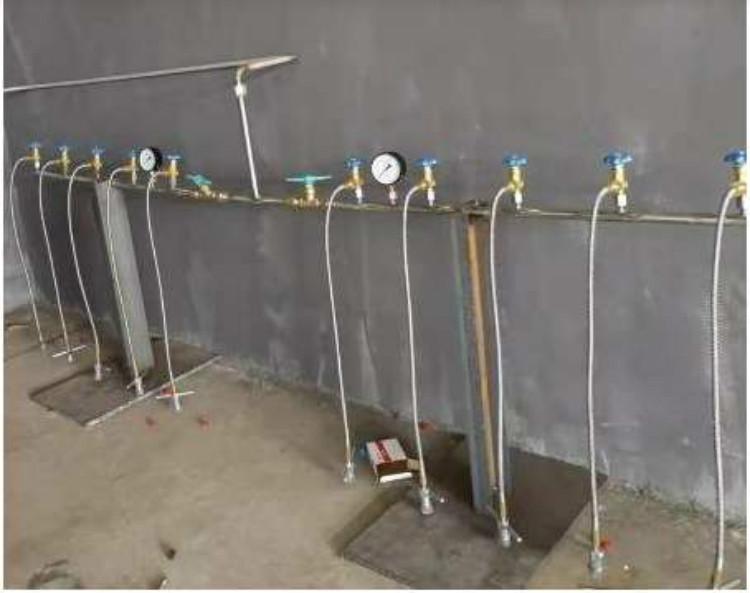 自動切換氣體匯流排