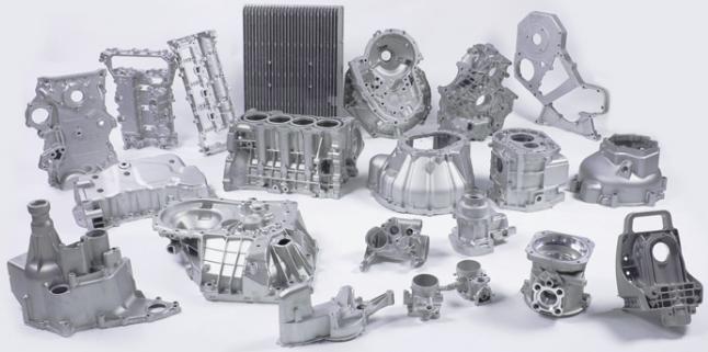 航天航空铸铝锌合金配件