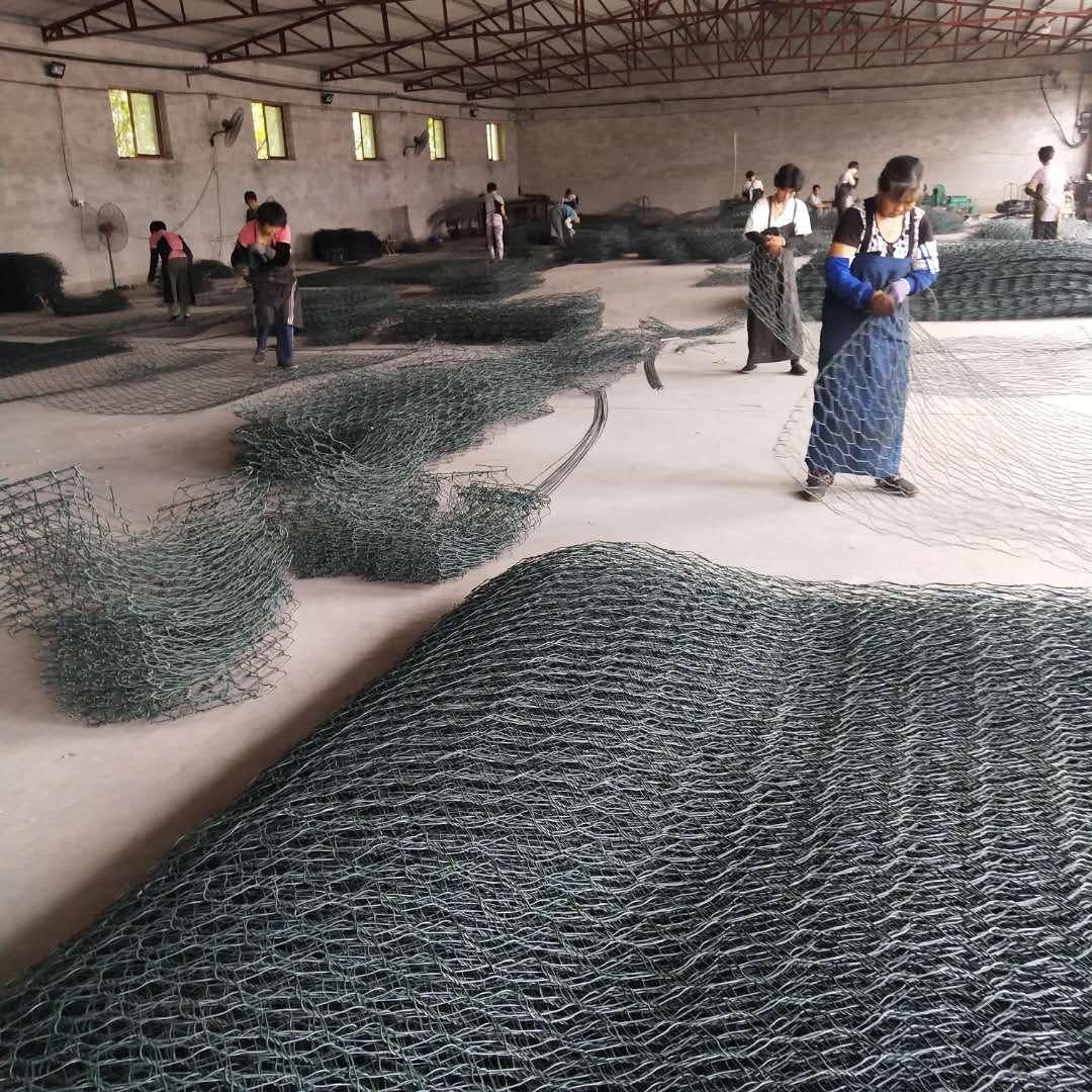 镀锌格宾笼生产厂家河道治理格宾网雷诺护垫绿滨垫