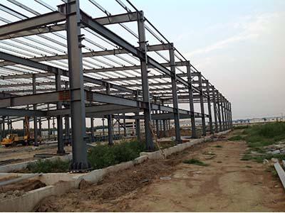 甘肅鋼結構施工