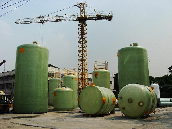 浦东新区玻璃钢储罐 鼎鼎系列玻璃钢立式储罐平底型供应商