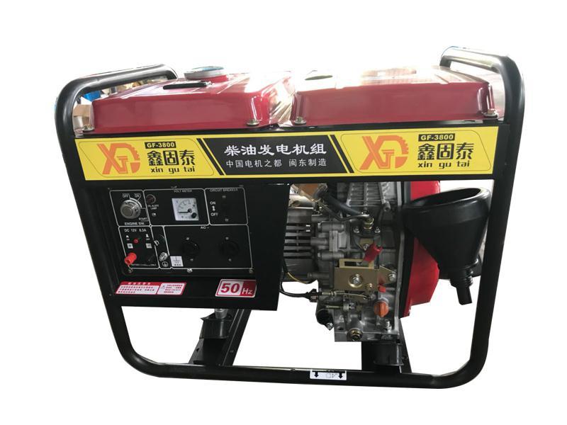 柴油汽油发电机组-推荐固泰机械