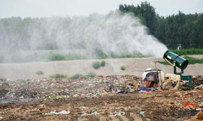 成都有機化肥、養殖場糞便、堆肥場、焚燒廠儲存倉噴霧除臭系統