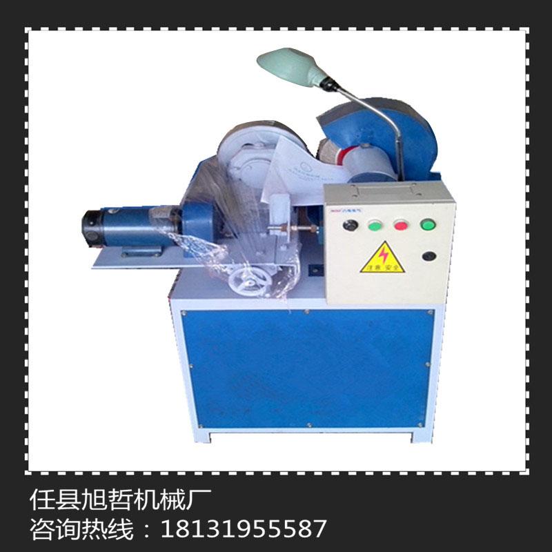 信源小型电动圆管外圆抛光机 小型圆管自动除锈抛光机