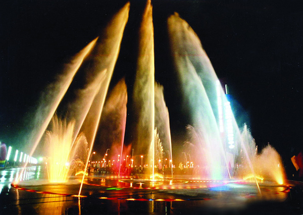 大型景观喷泉,河南音乐喷泉厂家,河南大型景观喷泉