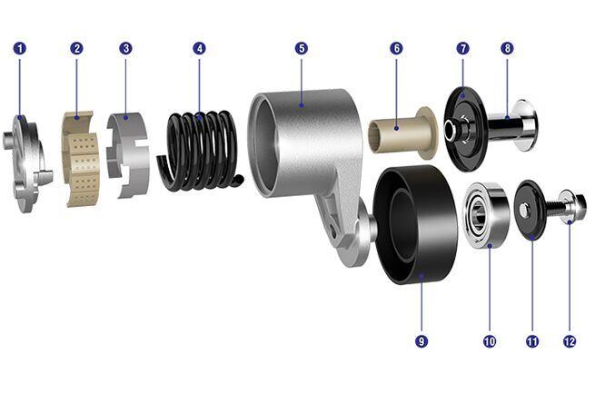 正時漲緊輪出售-買發動機張緊輪當然是到天納福汽車軸承了