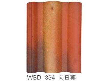 瓦德新材厂家生产水泥彩瓦抗压力强 承载力高