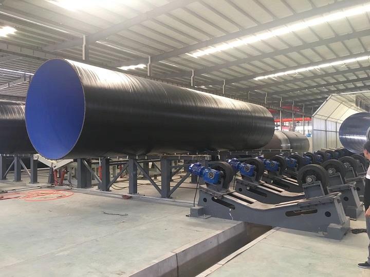 管道三层PE防腐设备,三PE设备,钢管三PE设备生产线,华特