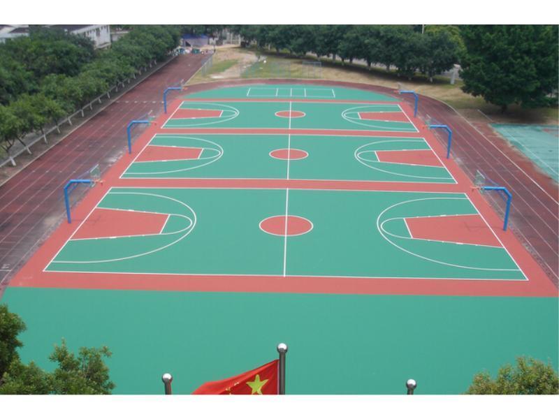 红寺堡区硅PU篮球场材料材料