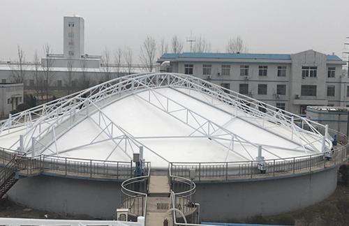 河北污水池膜加盖施工