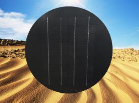 广东省高明6V/6W单晶太阳能板,共享单车太阳能板