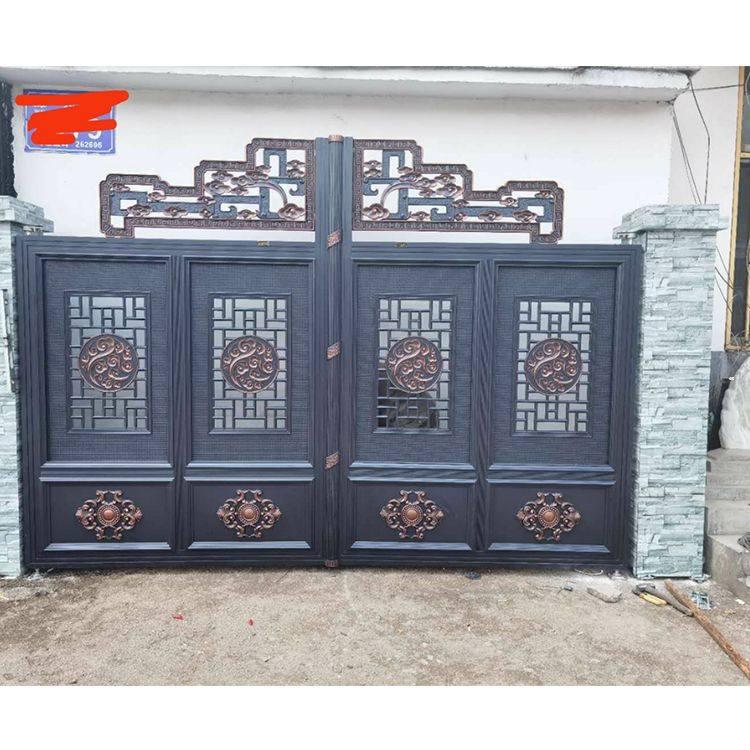 北京院墙铝艺大门价格