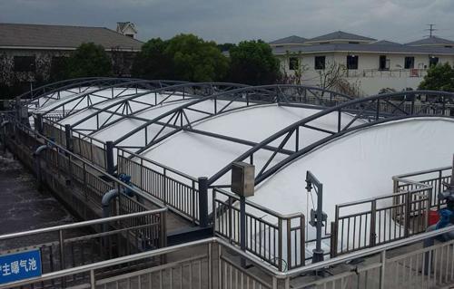 北京膜结构污水池加盖供货商