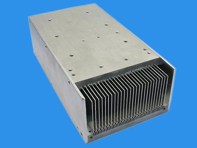 佳能电子插片散热器,插片散热器生产厂家