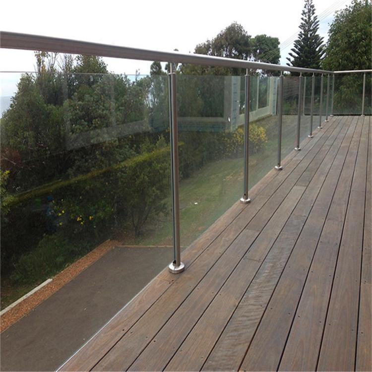 天津楼梯玻璃扶手护栏定制