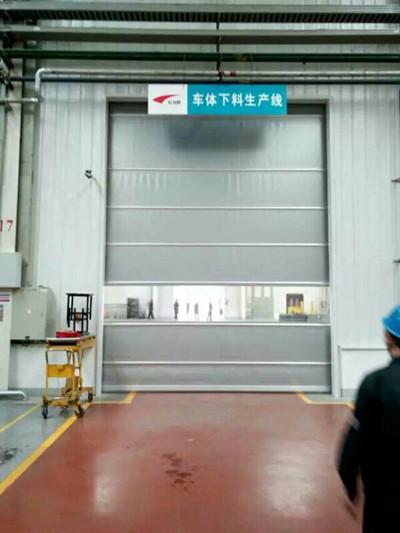 莱芜冷库不锈钢快速门设计