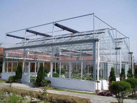 河南立體玻璃溫室價格