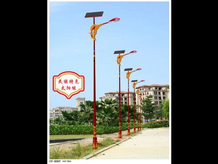 金昌光伏太陽能路燈生產廠家