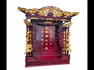 海南財神佛龕定制