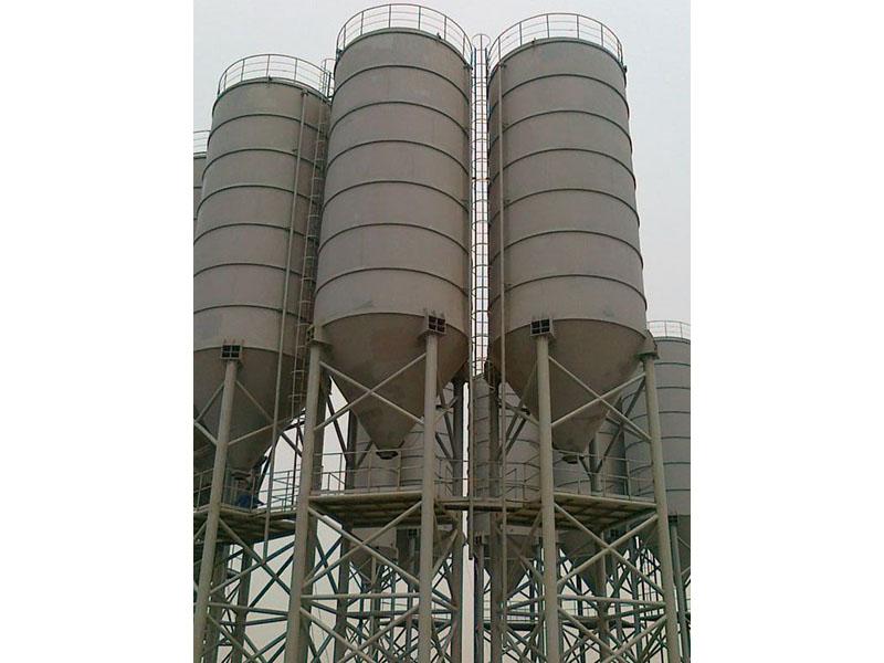 武威攪拌站水泥罐安裝公司