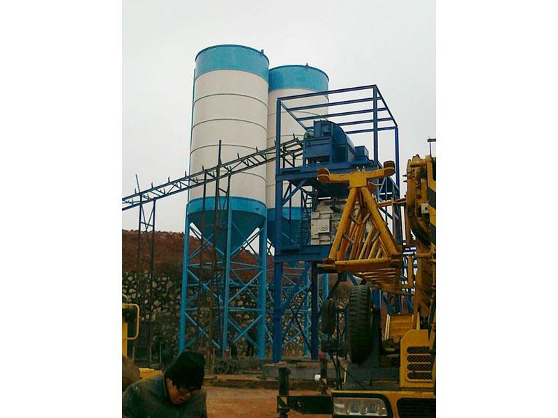 平凉150吨水泥仓安装