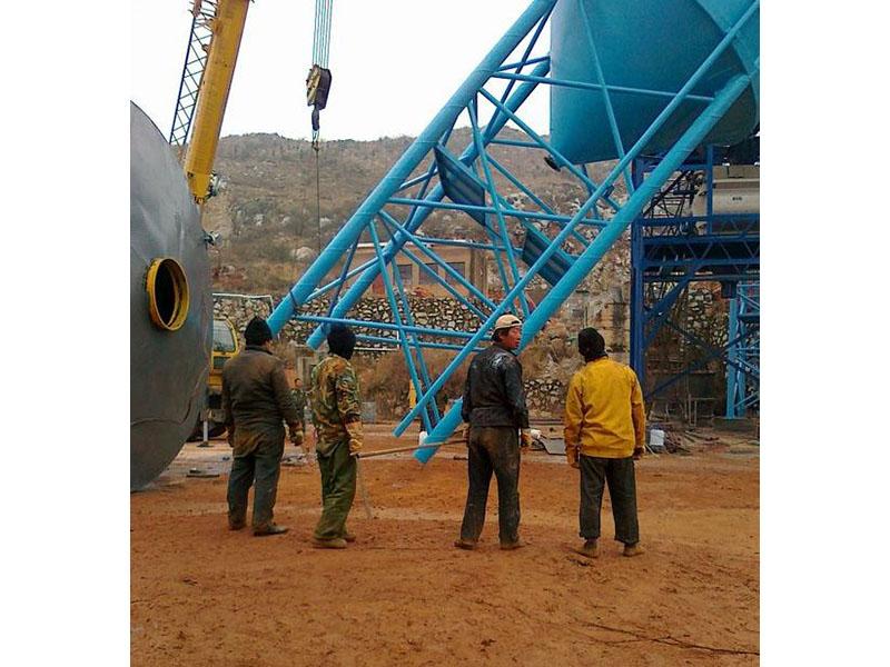 白银200吨水泥仓安装公司