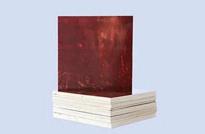 奇盛紅覆膜模板