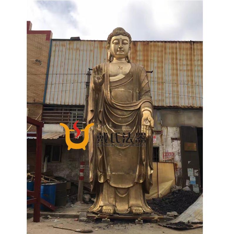 亭湖鑄銅佛像廠家-戴氏法器廠_可靠的釋迦牟尼佛像供應商