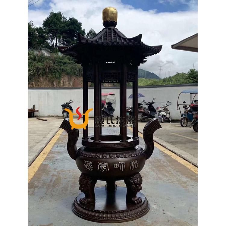 長方形香爐和圓形香爐的區別-青島寺廟香爐
