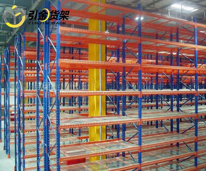2層工廠用重型貨架,青島倉庫重型貨架組裝圖解