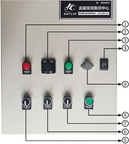 溫室控制柜