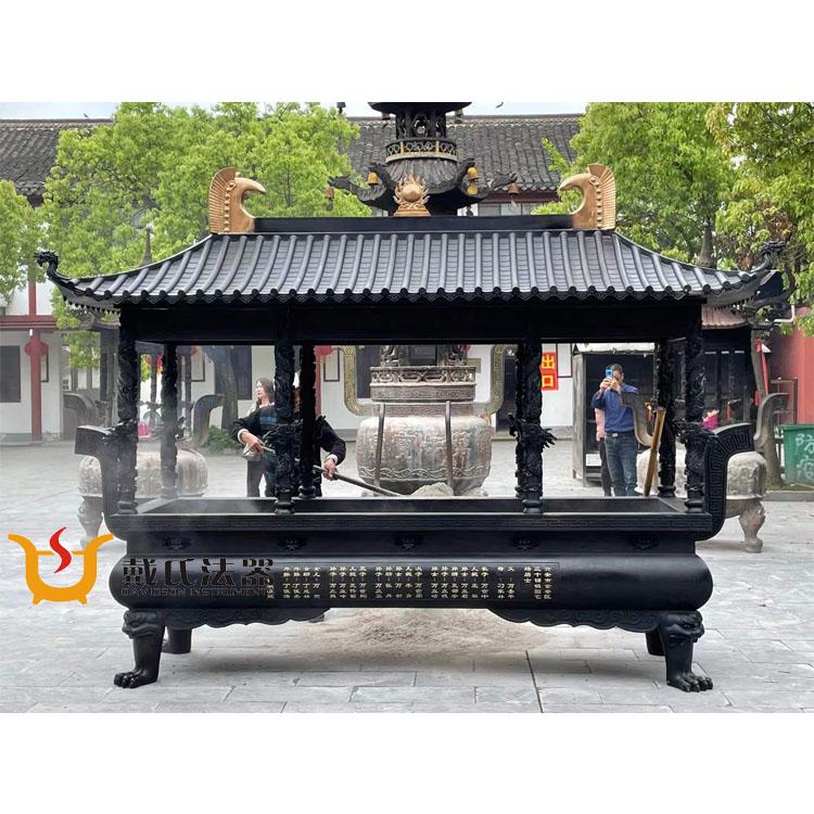 制作 寺庙铜香炉-哪里可以买到实用的方形铜香炉