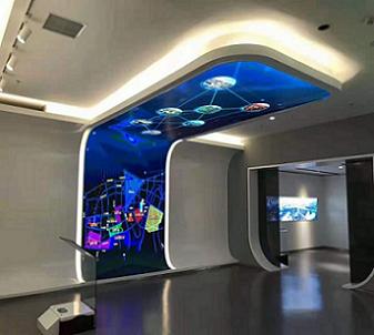 LED異形顯示屏_LED弧形屏-湖南鑫光彩
