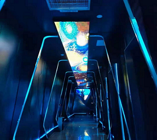 酒吧舞臺LED顯示屏_LED顯示屏廠家-湖南鑫光彩