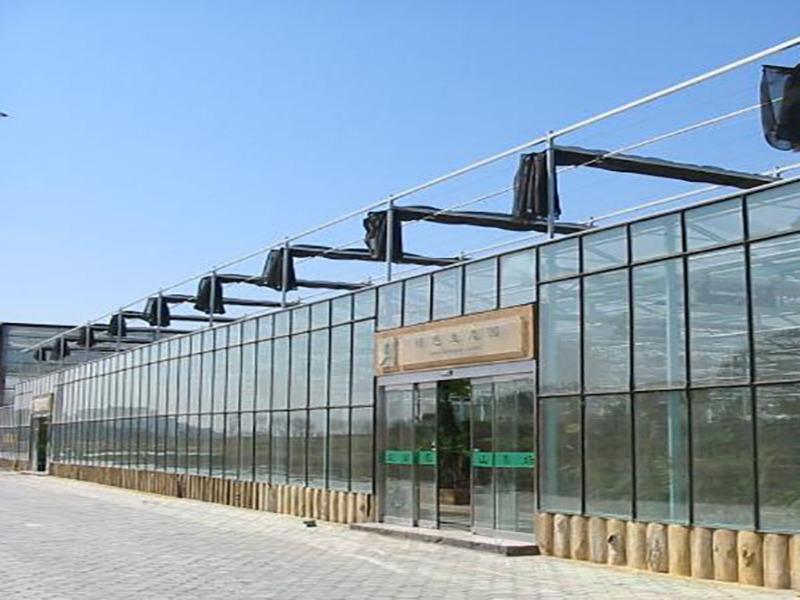 东营连栋智能温室大棚设计方案