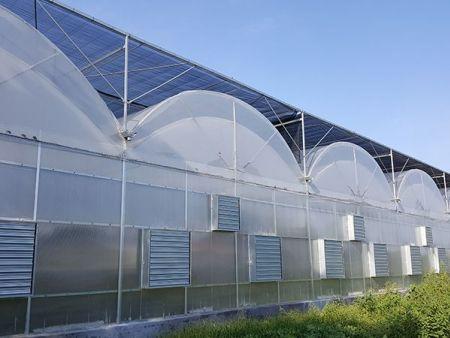 云南玻璃温室哪家好,智能联栋温室施工