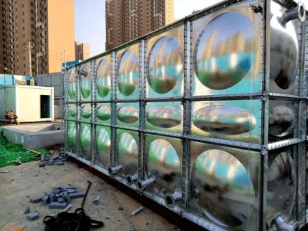 煙臺小型鍍鋅板水箱訂做
